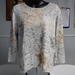 Alfred Dunner Long Sleeve Shirt